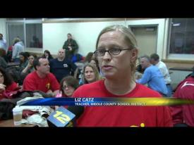 Latest anti Common Core rally held in Patchogue by News 12
